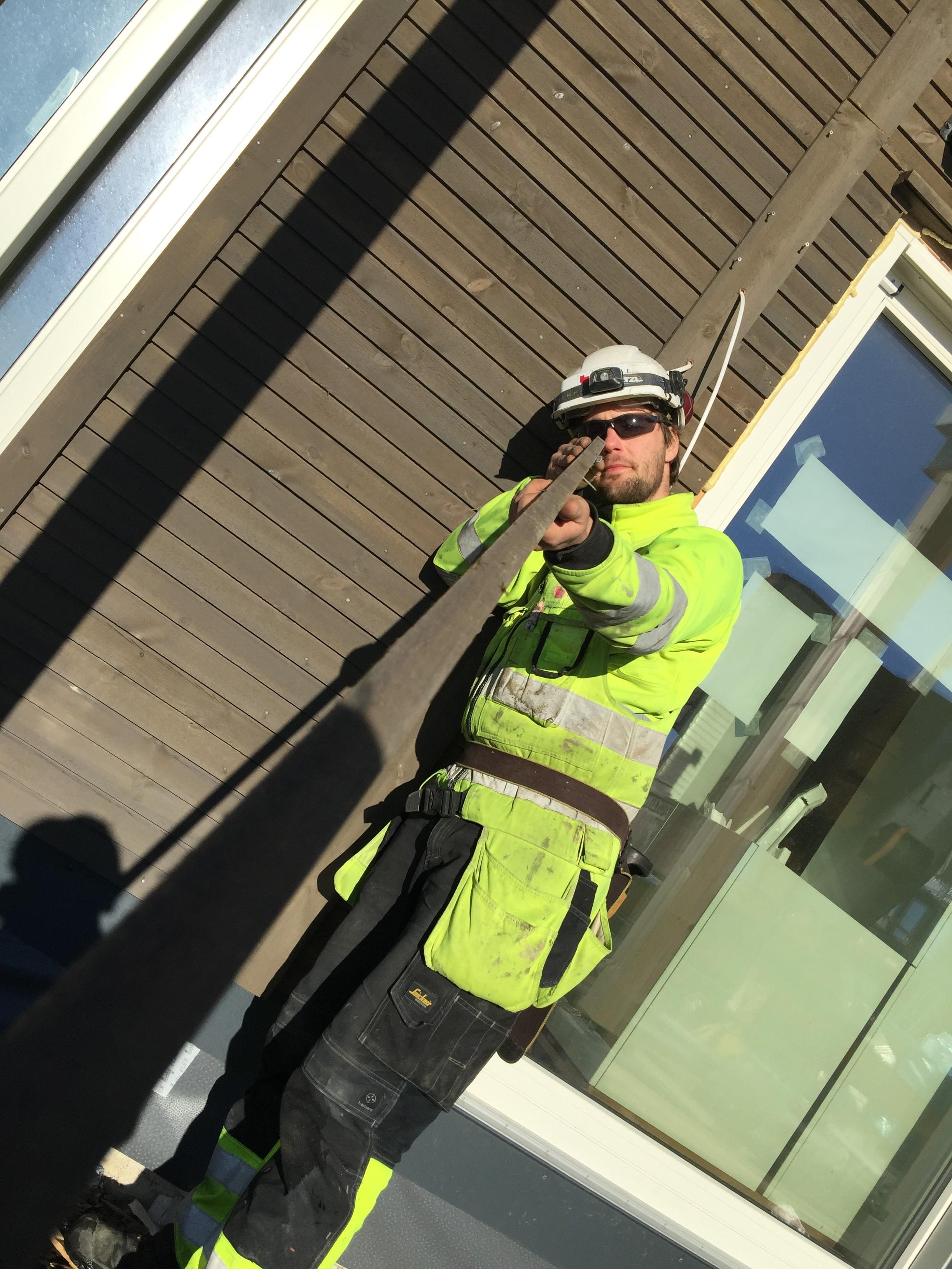 Lokale fagfolk har stått for byggingen